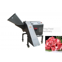 China Stainless Steel 800kg/H Commercial Meat Dicer Machine on sale