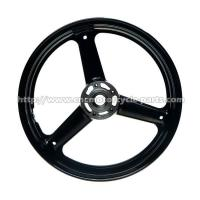 Buy cheap High Precise Custom Motorcycle Rims Wheels With Aluminum Hubs from wholesalers
