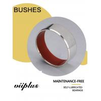 China Red PTFE Corrosion Resistance Stainless Steel Bushings For Marine Industrial Machinery on sale