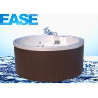 Outdoor Portable Hot Tub : Acrylic round massage bathtub thermostat system outdoor