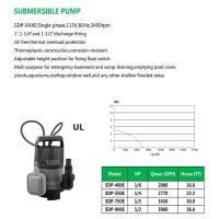 Cheap SUBMERSIBLE PUMP SDP-400E SDP-550E SDP-750E SDP-900E for sale