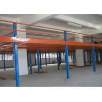 Buy cheap Warehouse Steel Structure Platform Custom Storage Mezzanine Floor System from wholesalers