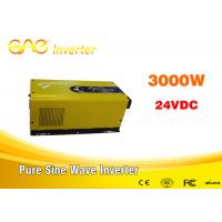 Buy cheap 3000w off grid inverter single output 12v/24v input 220v oem inverter with CE & ROHS Certificated from wholesalers