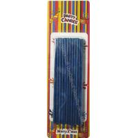Cheap Emit Flake Dark Birthday Sparkler Candles Clavate Stick And Thin 24 Pcs , 11 Grams for sale