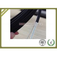 Buy cheap Black Color FTTH Fiber Optic Cable Non - Metal Strength Member With LSZH Outer from wholesalers