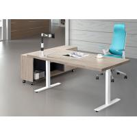 Cheap Good Craft Executive Office Furniture , Luxury Executive Desks Fine Wood Material for sale
