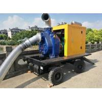 Cheap manufature price big type 8inch move water pump portable diesel water pump wholesale