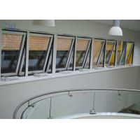 Powder Coating Metal Awning Windows , Top Hung Roof Window AS2047 Standard