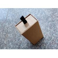 Buy cheap Corrugated Small Kraft Gift Boxes , Rectangle Shape Small Jewelry Box from wholesalers