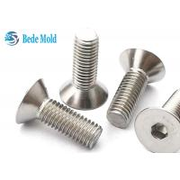 Cheap Flat Head Socket Screws 8.8 Grade CSK Bolts Stainless Steel Fasteners  DIN 7991 for sale