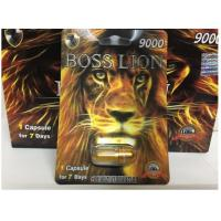 Cheap Boss Lion 9000 herbal strong effect Male Sexual Enhancement Pill Card Type For Stimulate Performance capsules for sale