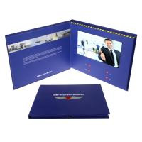 China Opaque LCD Video Greeting Card Recordable With Long Video Playing Time on sale