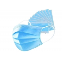 Cheap Daily Wearing Face Nonwoven Disposable 3 Ply Earloop Mask for sale