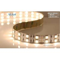Cheap 5050 Double Row 3000K 12V Flexible LED Strip Lights With CE / RoHs Listed for sale