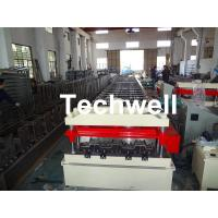 Cheap Cr12 Automatic Galvanized Steel Sheet Floor Deck Roll Forming Machine PLC frequency control for sale