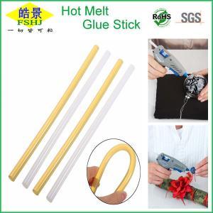 Cheap Light Yellow High Strength Hot Melt Glue Sticks , Industrial Hot Glue Sticks wholesale
