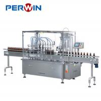 China Washing Filling Capping Machine Auto Monoblock Syrup Filler Bottle on sale