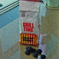 China Pillow-shaped charcoal Synthetic BBQ Charcoal on sale