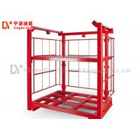 Cheap Red Color Heavy Duty Pallet Racks , Warehouse Storage Racks 1000-1500kg Loading Capacity for sale