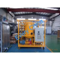 China Double Stage Vacuum Transformer Oil Filtration Plant on sale