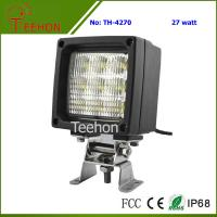 Cheap 27W Square LED Working Lighting for Forklifts, Tractors and Agricultural Vehicles for sale