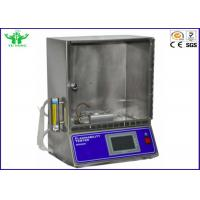 Cheap Blanket Flammability Testing Equipment ASTM D4151 with Freely Set Ignition Time for sale