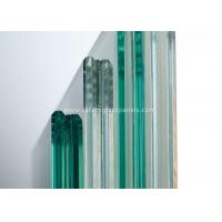 Cheap Curtain Wall Glass Flat Laminated Safety Glass 5mm Toughened Glass for sale