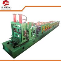Cheap Construction CZ Purlin Roll Forming Machine With Adjustable Cutting System for sale