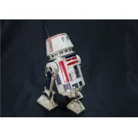 White Color Star Wars Robot Toy Movable For Collection High Realistic