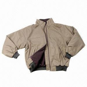 Cheap Men's Jacket, Made of Nylon Taslon, with Metal Zipper for sale