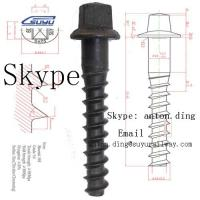 China Railway Screw Spike /Sleeper screw /Coach screw /Rail screw on sale