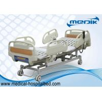 Cheap 3 Function Folding Semi Fowler Medical Bed , Ward / ICU Bed For Patient for sale