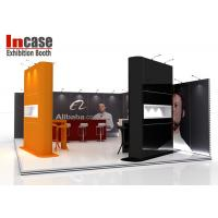 Cheap Lightweight 10x20 Trade Show Booth Digital Printing Strong Aluminum Frame for sale
