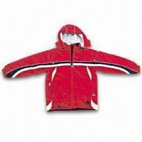 Cheap Nylon Talson Ski Jacket with PU Coating and 100% Polyester Lining for sale
