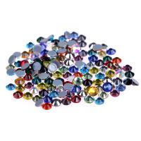 Cheap Ss4 / Ss6 MC Glass Rhinestones , Flat Back Glass Crystals Eco - Friendly for sale