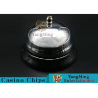 Cheap Casino Dedicated Stainless Steel Call Bell For Casino Poker Table Games for sale