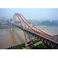 Cheap Customized Single Lane Double Lane Steel Bridge Structure Cold Rolled for sale