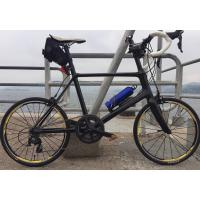 Cheap 7-tiger carbon road mini bike 20 inch frame bmx road bicycle 451 frame 480 mm size 3k weave gloss   BSA bb for sale
