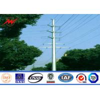 Cheap NEA Steel poles 20m Stee Utility Pole for electrical transmission for sale
