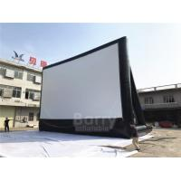Cheap Large Outdoor Backyard Inflatable Home Theater Projection Screen For Advertising for sale