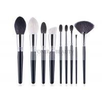 Cheap Complete Handmade Natural Hair Makeup Brush Set Durable Copper Ferrule for sale
