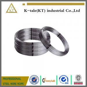 Cheap Electro/Hot Dipped Galvanized Steel Wire 8 gauge 4.19mm, halambre de hierro galvanizado/cable oval for sale