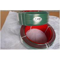 Cheap Conveyor PU V Belt With Super Grip / Transmission Polyurethane V Belt Top Green PVC for sale