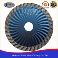 Cheap Customized Color Diamond Stone Cutting Blades For Wave Turbo Saw Blade for sale
