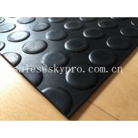 Cheap Heavy duty Flooring / gasket 2.5mm - 20mm Rubber Sheet Roll Smooth / embossed Surface for sale