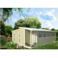 Cheap Light Steel Structure Frame Construction Prefabricated Granny Flat Homes for sale
