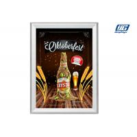 Cheap Aluminum Profile Led Illuminated Snap Poster Frames A1 Size Rectange Graphic Display for sale