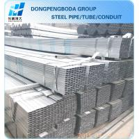 Cheap Galvanized GP steel hollow section SUPPLIERS made in China market for sale