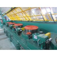 Cheap 0.7mm Carbon Steel Wire Straight Wire Drawing Machine , High Efficient Wire Processing Machine for sale