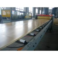 China Environmental Protection PVC Wpc Board Machine / Wpc Production Line For Furniture on sale